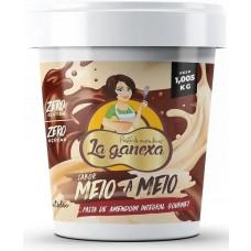 Pasta de Amendoim (1005g) MEIO A MEIO - La Ganexa