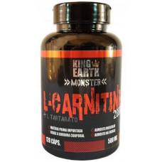 L-carnitina 120caps 500mg - King Earth