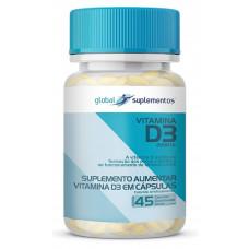 Vitamina D3 (45caps 2000 UI) - Global